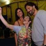 "Joe Manganiello backstage at Cirque du Soleil ""Totem"" in Atlanta, GA"
