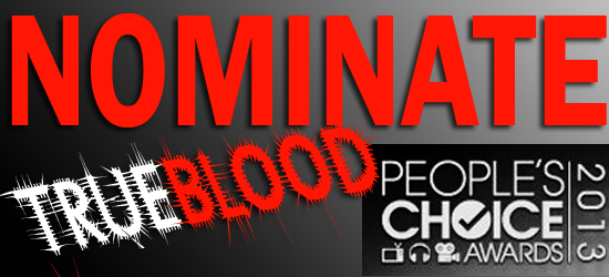 Nominate True Blood for a 2013 People's Choice Awards