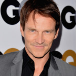 Stephen Moyer shows off growing moustache at GQ Men of the Year Party