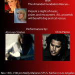True Blood Night of Music for Amanda Foundation November 15