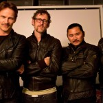Stephen Moyer and friends show final result of Movember stache