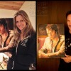 Kristin Bauer and Stephen Moyer with the Bill Compton portrait