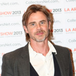 Sam Trammell Attends LA Art Show 2013 Opening Night Premiere Party