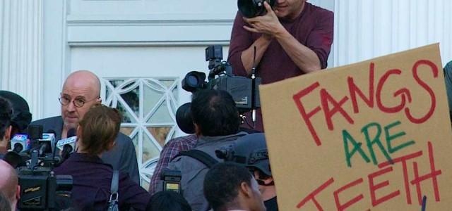 True Blood set photos – Season 6 filming the Governor of Louisiana