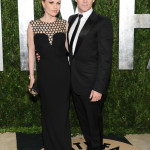 Anna Paquin & Stephen Moyer Attend the 2013 Vanity Fair Oscar Party