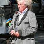 Rutger Hauer spotted on the True Blood set with some wild hair