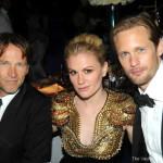 Alexander Skarsgård has praise for Anna & Stephen's parenting skills