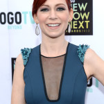 Carrie Preston at the 2013 NewNowNext Awards