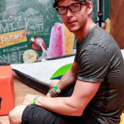 Ryan Kwanten Visits Fruttare Hangout at Coachella Day 2