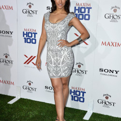 Janina Gavankar Looks Hot at Maxim Hot's 100 Party