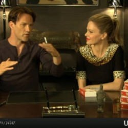 Kristin Bauer and Stephen Moyer re: directing in True Blood Season 5