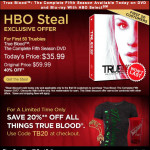 Celebrate True Blood Season 5 DVD release with huge discount