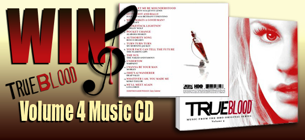 GIVEAWAY – WIN a True Blood Volume 4 Music CD!