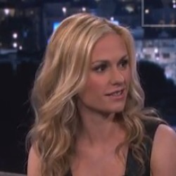 Video: Anna Paquin on Jimmy Kimmel Live