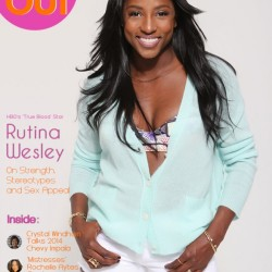Rutina Wesley in Rolling Out Magazine