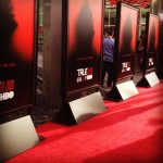 First candid shots of cast at the True Blood Season 6 Premiere