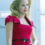 Anna Camp Says Sarah Newlin is working her way into politics
