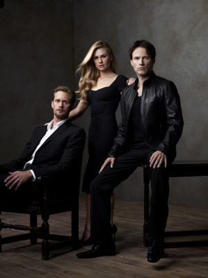 Eric, Sookie and Bill in Season 4