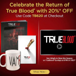 Celebrate the return of True Blood with 20% off in the HBO Shop