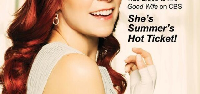 Carrie Preston on the Cover of Gladys and VIV Magazines
