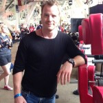 Rob Kazinsky Gets his Geek on at his 1st Comic Con experience