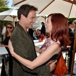 Video: Carrie Preston and Stephen Moyer Arriving at BAFTA Tea Party