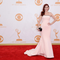 Carrie Preston on the Red Carpet at the Emmy's