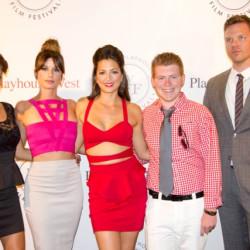 "Jim Parrack attends Premiere of Wife Ciera Parrack's film ""Daisy's"" and 2013 TIFF"