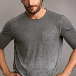 Joe Manganiello is featured in ELLE Magazine