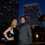 Stephen Moyer & Anna Paquin attend MPTF's Evening Before Emmy Party on Saturday
