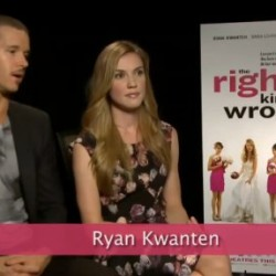 "Videos from TIFF for Ryan Kwanten's ""The Right Kind of Wrong"""