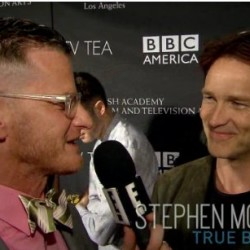 Stephen Moyer talks Alexander Skarsgård's Full Frontal at BAFTA Tea