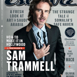 Sam Trammell Makes the Cover of Esquire