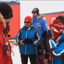 All the Teams including Alexander Skarsgård reach Anticartica