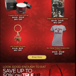 Up to 50% off on True Blood merchandise