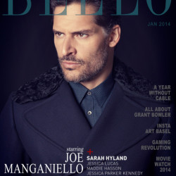 Joe Manganiello on the cover of Bello Magazine