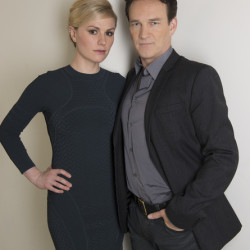 Anna Paquin and Stephen Moyer talk collaborating as a couple