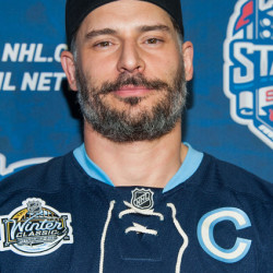 Joe Manganiello at the 2014 Coors Light NHL Stadium Series