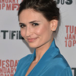 Karolina Wydra At Season 5 premiere of FX's 'Justified'