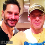 "Joe Manganiello appears on EJ Scott's Podcast ""Scratch the Surface"""