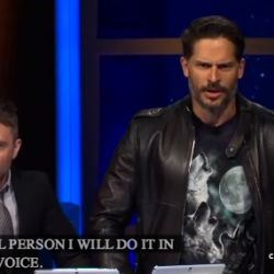 Joe Manganiello Reads Hilarious Amazon Review @Midnight fun