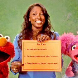 Rutina Wesley  Makes a Plan with the Muppets