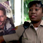 Tanya Wright interviews Joe Manganiello about his curly hair
