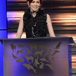 Carrie Preston at the Humane Society of The United States Gala