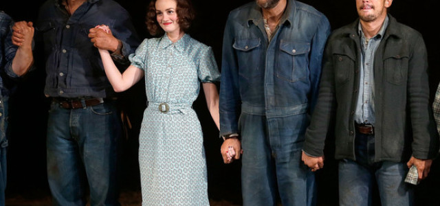 "Jim Parrack in Broadway's ""Of Mice and Men"""