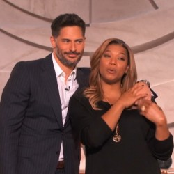 "Joe Manganiello out promoting his films: ""Sabotage"" and ""La Bare"""