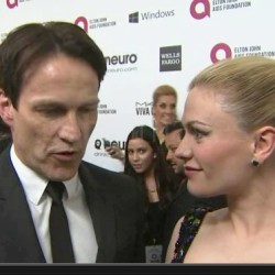 More video of Anna Paquin and Stephen Moyer out on Oscar Night