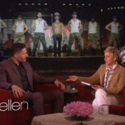 "Joe Manganiello Talks and Plays Games on ""Ellen"""