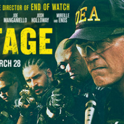 "Closer Look at Joe Manganiello in ""Sabotage"""