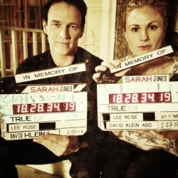 "Stephen Moyer & Anna Paquin support ""Slates for Sarah"""